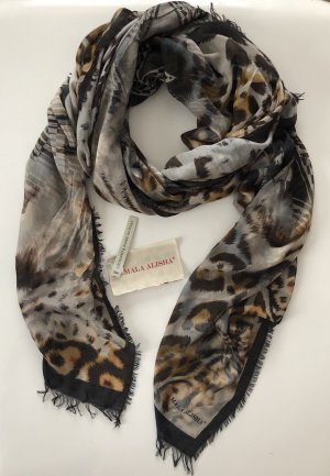 Mala Alisha Schal Animalprint braun schwarz beige * NP €249