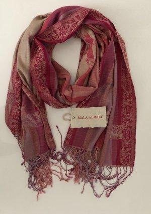Mala Alisha Schal Bohoo rosa Pastell * NP €119