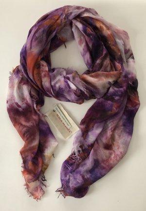 Mala Alisha Schal Cashmere lila Vintage * NP €249