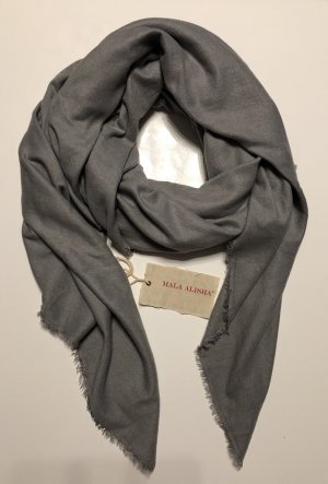 Mala Alisha Bufanda gris-gris claro