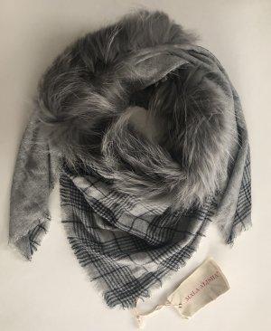 Mala Alisha Neckerchief black-grey