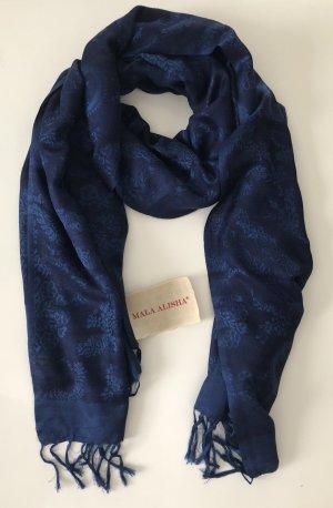 Mala Alisha Bufanda azul-azul oscuro