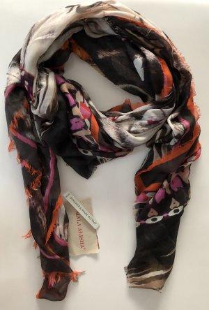Mala Alisha Schal schwarz Pink orange* NP € 245 * NEU