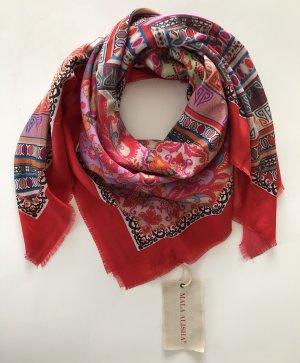 Mala Alisha Foulard en soie multicolore