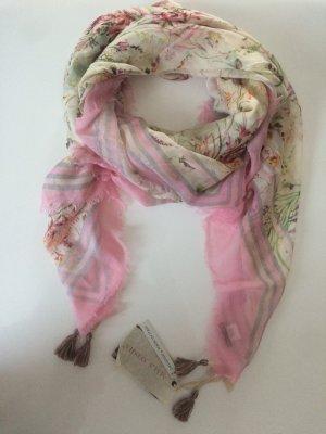 Mala Alisha * Sommertuch Jade Rose rosa nude * Made in Italy * NP € 245