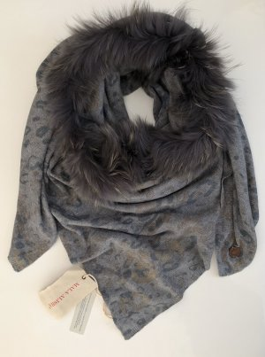 Mala Alisha Pañoleta gris-gris oscuro
