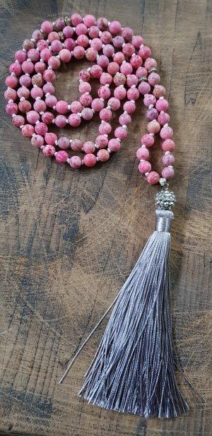 Mala Rhodonit 108 Perlen