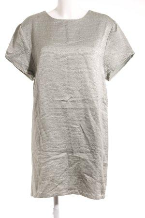 Malaika Raiss Kurzarmkleid graugrün meliert Elegant