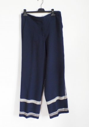 by Malene Birger Marlene Trousers dark blue-white
