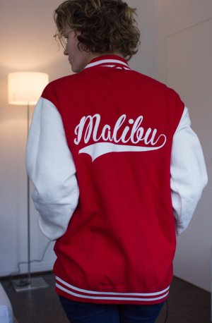 Malibu College Jacke made On The Rise