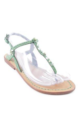 Maliparmi Flip Flop Sandalen grasgrün-khaki Casual-Look