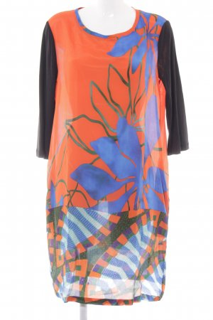 Maliparmi Tunic Dress flower pattern casual look