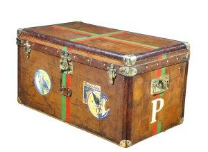 Goyard Luggage brown