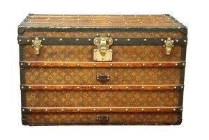 Louis Vuitton Luggage brown