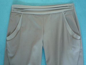 Malloni - edle Hose im Jogpant Style, Gr. 38 - NEU - taupe