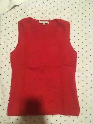 Mallonian finest cashmere Gr. S Pullunder red