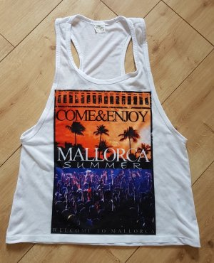 MALLORCA Summer Tank Top Come and enjoy S 36