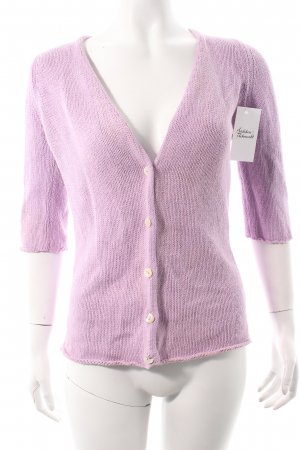 malo Cardigan flieder Casual-Look