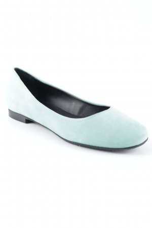 malo Foldable Ballet Flats turquoise simple style