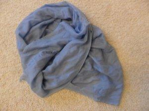 malo Sciarpa di lana azzurro Cachemire