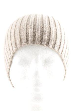 malo Cappello a maglia beige puntinato stile casual