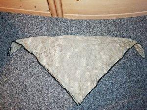 Maloja Dreieckstuch/Schal beige/weiß/schwarz