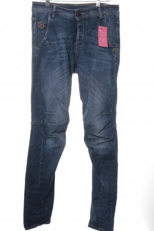 Maloja Jeans taille basse bleu style mode des rues