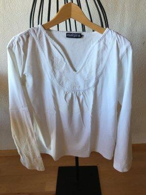 Maloja Sweat Shirt white cotton