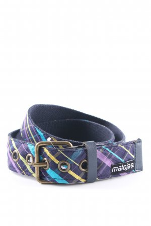Maloja Fabric Belt striped pattern casual look