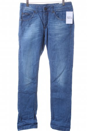 Maloja Straight-Leg Jeans blau Casual-Look