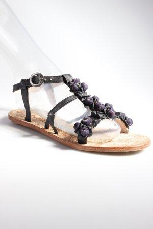 Malota Sandalen mit Perlenverzierung