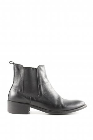 MALU Chelsea Boots black business style