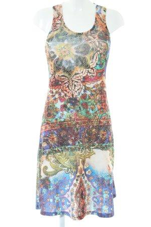 Malvin A-Linien Kleid abstraktes Muster Casual-Look