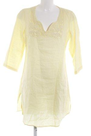 Malvin A-Linien Kleid gelb Casual-Look