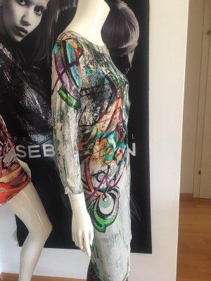 Malvin Designer Kleid Small knielang viskose wie neu hoher Neupreis