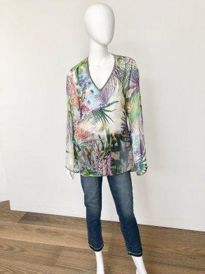 Malvin Silk Blouse multicolored silk
