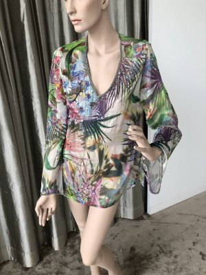 Malvin Zijden blouse veelkleurig Zijde