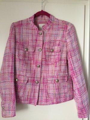 Malvin Jacke, Blazer, Boucle, neu, Gr 38, rosa, Coco Chanel Stil
