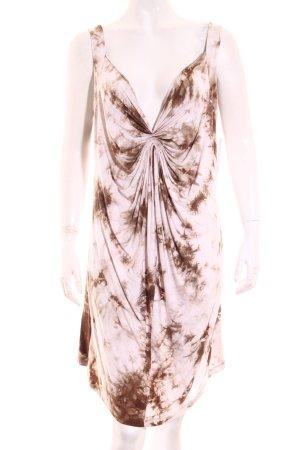 Malvin Kleid weiß-grüngrau Farbverlauf Beach-Look