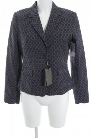 Malvin Kurz-Blazer Ornamentenmuster Business-Look
