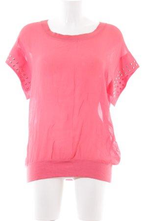 Malvin Kurzarm-Bluse pink Casual-Look