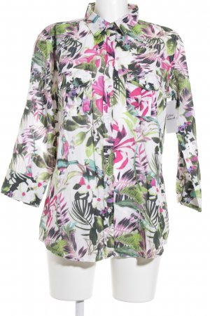 Malvin Langarm-Bluse florales Muster Casual-Look