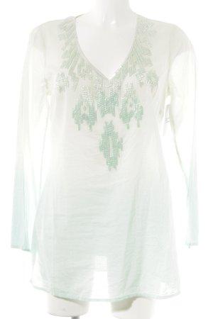 Malvin Langarm-Bluse mint-blassgrün Farbverlauf Casual-Look