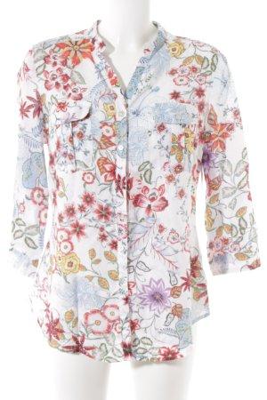 Malvin Langarmhemd florales Muster Casual-Look