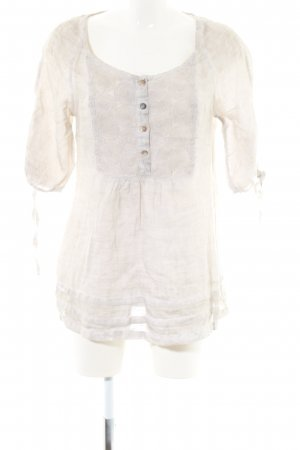Malvin Linen Blouse natural white casual look