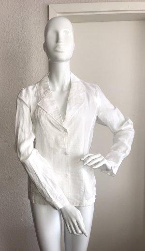 Malvin Leinenbluse Bluse 100% Leinen weiß