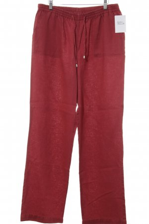 Malvin Linen Pants red beach look