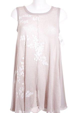 Malvin Longtop altrosa-rosé florales Muster Casual-Look