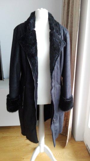 Malvin Cappotto in eco pelliccia nero Poliestere