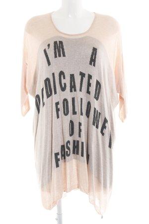 Malvin Oversized Pullover Motivdruck Casual-Look
